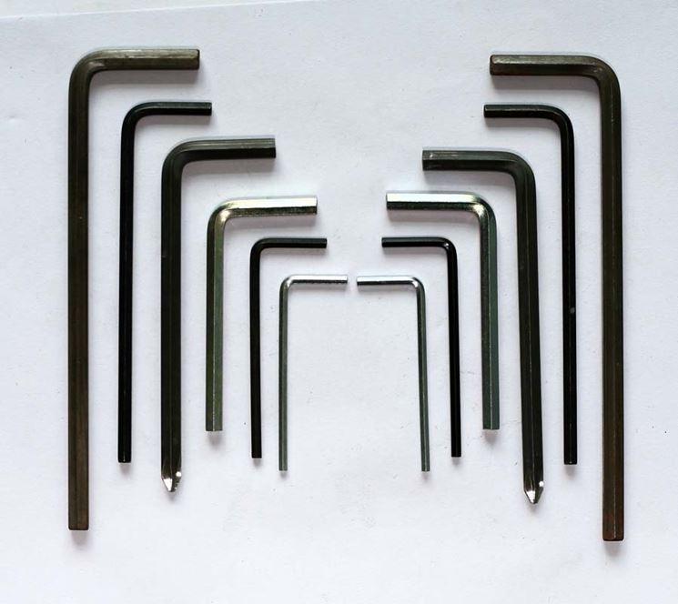 Set di chiavi a brugola