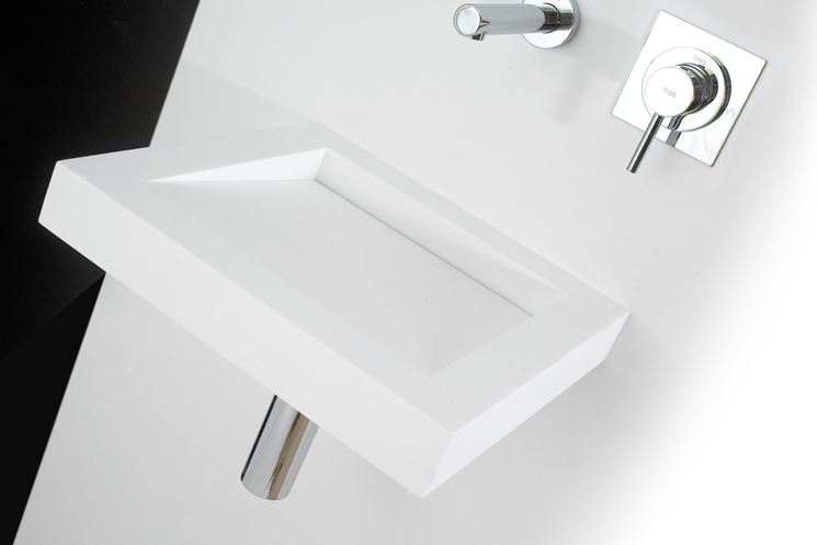 arredo bagno in corian - bagno - arredo bagno stile corian - Arredo Bagno Corian