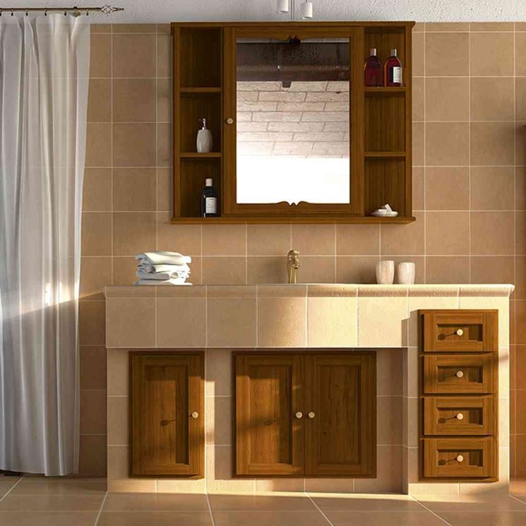 Bagni in muratura bagno la bellezza dei bagni in muratura - Mobile bagno in muratura ...