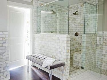 Bagno con doccia