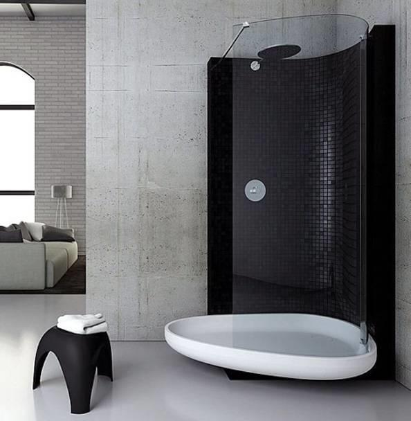 Bagno con doccia bagno for Immagini minimaliste