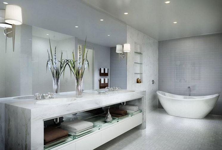 anche se la stanza da bagno non pu essere completamente modificata in caso di lavori di ristrutturazione della casa a causa della presenza di tubi