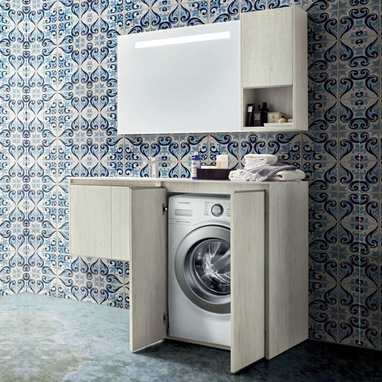Piastrelle per lavanderia aj93 pineglen - Come realizzare un bagno ...