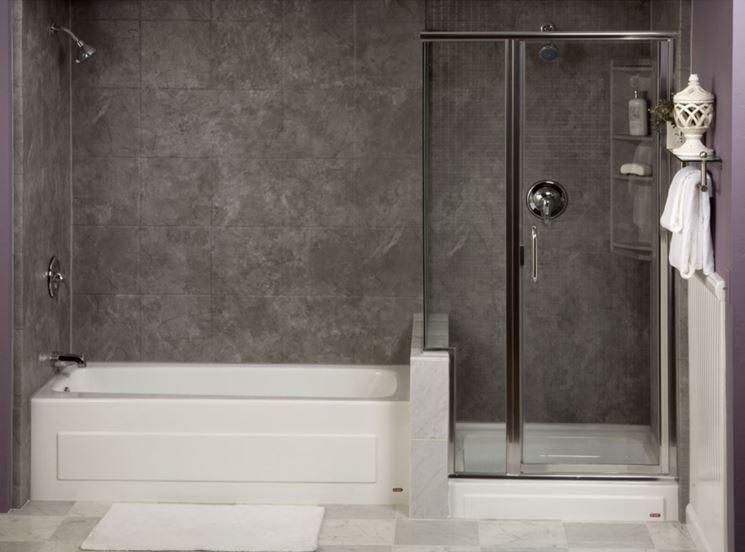 Bagno con vasca e box doccia bagno realizzare bagno - Bagno doccia vasca ...