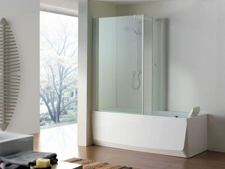 Bagno con vasca e box doccia bagno realizzare bagno - Vasca doccia da bagno ...