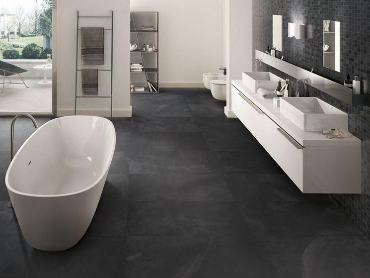 Bagno in resina bagno rivestimenti bagno - Resina per pareti bagno ...