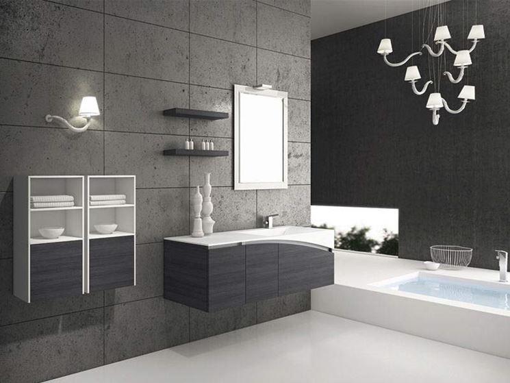 Bagno moderno bagno bagno moderno caratteristiche - Lavandino bagno moderno ...