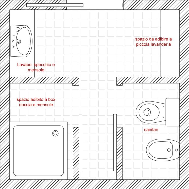 Bagno nuovo da aggiungere bagno come aggiungere un for Come progettare un layout di una stanza online gratuitamente