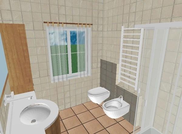 Bagno nuovo da aggiungere bagno come aggiungere un for Disegnare progetto casa