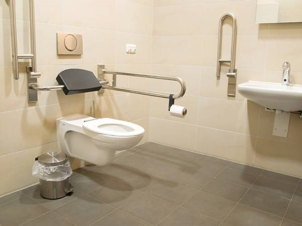 Bagno per disabili bagno for Bathroom designs disabled