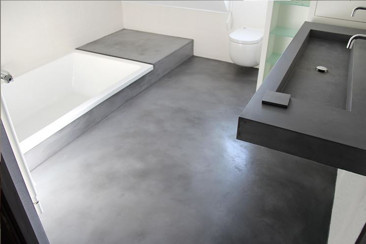 Bagno resina bagno rivestire il bagno con la resina - Rivestimento bagno resina ...