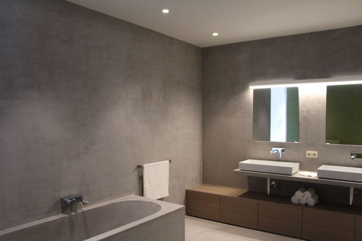 Bagno resina bagno rivestire il bagno con la resina - Resina per pareti bagno ...