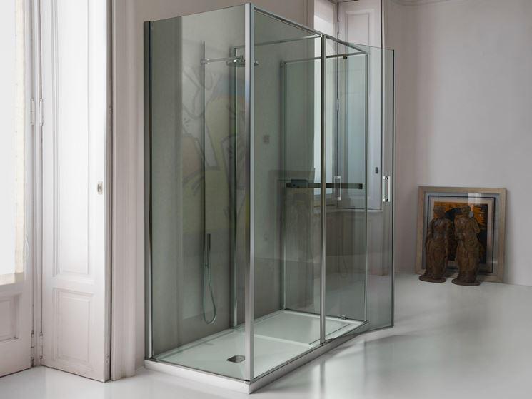 box doccia in cristallo