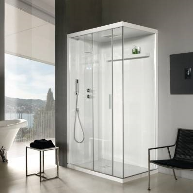 Box doccia rettangolari bagno - Allestimento bagno ...