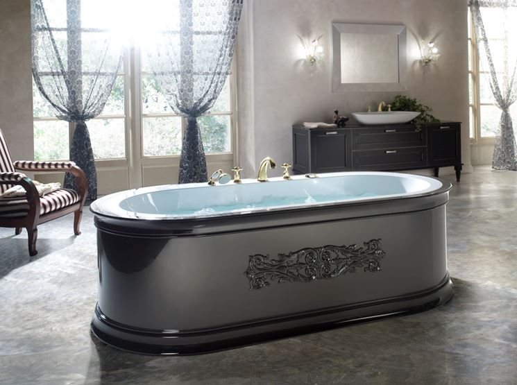 Vasca Da Bagno Retro : Decorare il bagno con vasca retrò bagno lo stile delle vasche