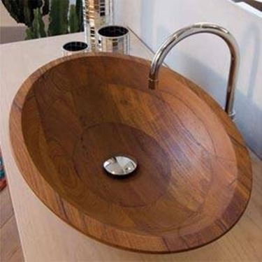 lavabi in legno - Bagno
