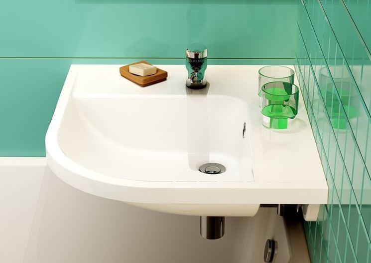 Lavabo ad angolo per bagni piccoli bagno lavabi - Dimensioni sanitari bagno piccoli ...