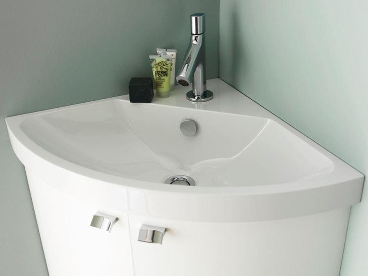 Lavabo ad angolo per bagni piccoli bagno lavabi - Lavandini da incasso bagno ...