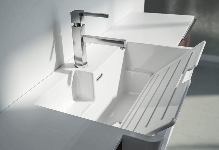 Lavabo lavanderia bagno mobile lavabo lavanderia for 2 br 2 piani casa bagno