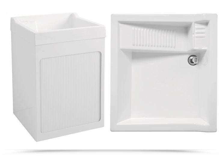 Lavabo lavanderia con vano lavatrice - Colavene