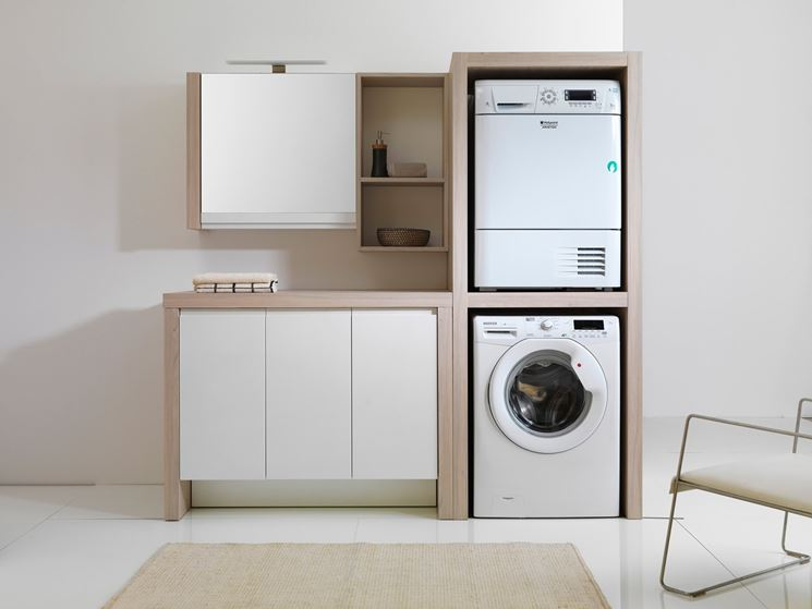 Lavatoio con mobiletto bagno mobile lavatoio - Mobiletto bagno ...