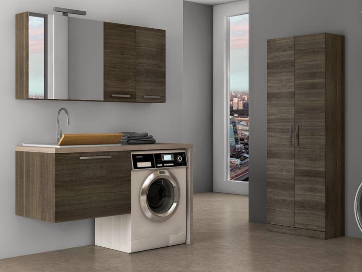 Lavatoio per lavanderia bagno mobili per lavanderia for Quale lavatrice comprare
