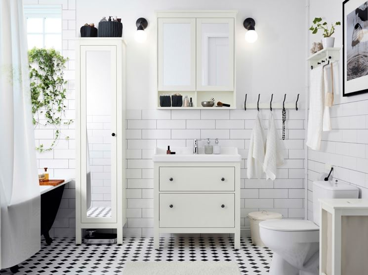 mobili bagno Ikea Hemnes