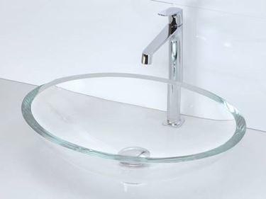 Modelli  di lavabi in cristallo
