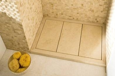 piatti doccia in marmo - bagno - Come Costruire Un Piatto Doccia Con Piastrelle