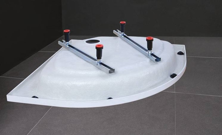 installazione piatto doccia