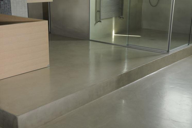 Resina bagno bagno rivestimento in resina per bagno - Bagno cemento spatolato ...