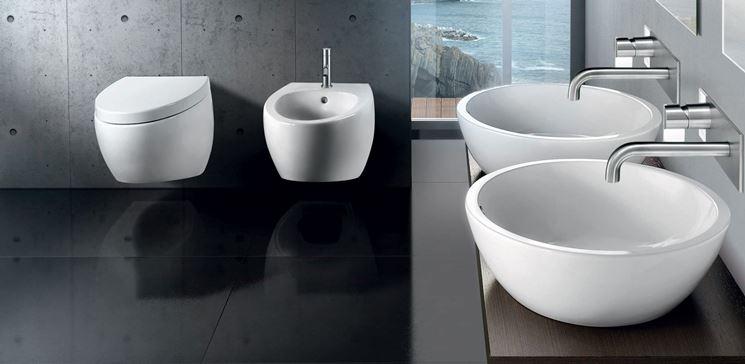 bagni moderni con sanitari sospesi: mobili bagno da 101 a 220 cm ... - Bagni Moderni Con Sanitari Sospesi