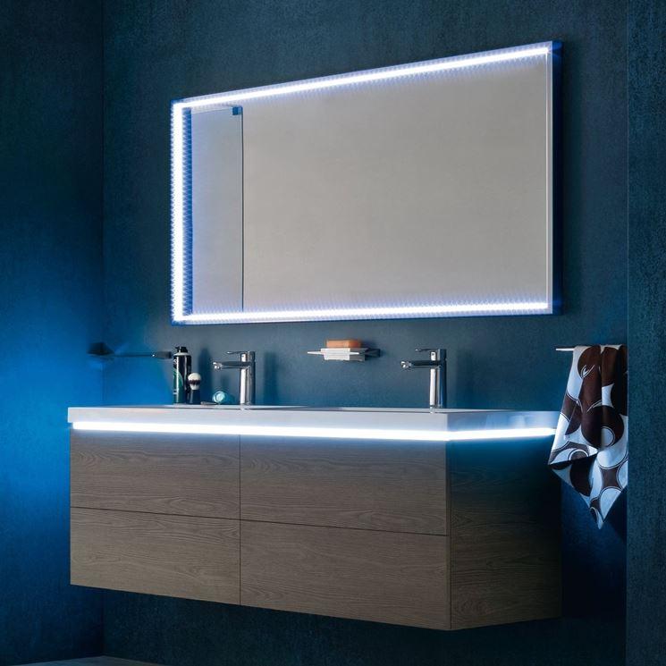 Specchi per bagno bagno tipologie di specchi per bagno - Specchio per bagno ...