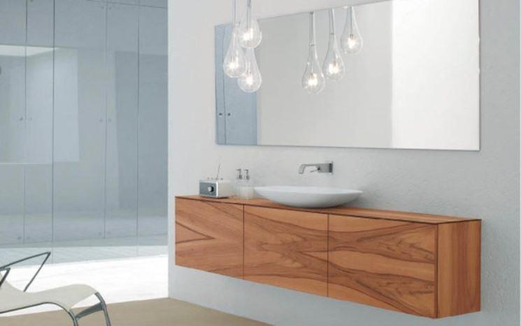 Specchiera bagno classica