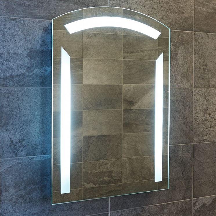 Specchiera bagno con luci