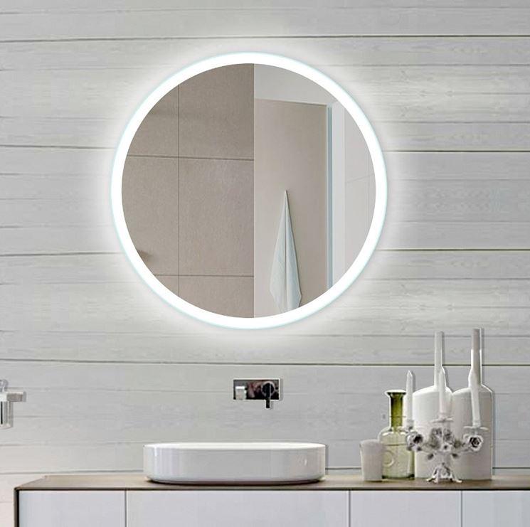Specchio bagno con luce bagno scegliere tra gli - Specchio con luce per bagno ...