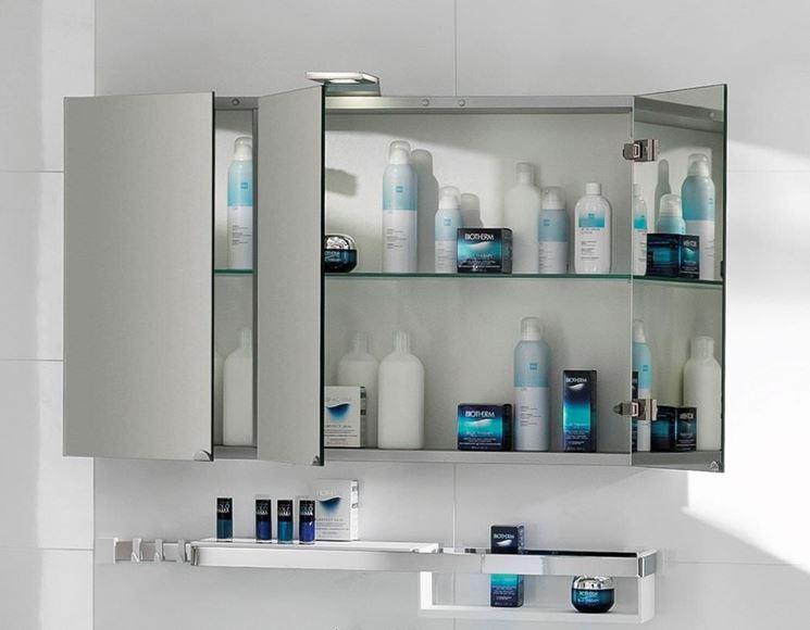 specchio contenitore bagno - bagno - tipologie di specchi ... - Arredo Bagno Specchio Contenitore