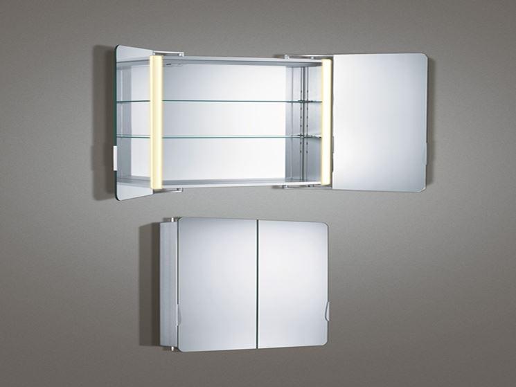 Specchio contenitore - Bagno - modelli di specchi contenitore