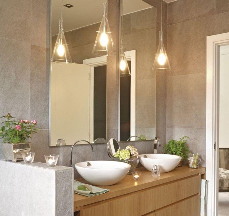 Specchio per bagno bagno scegliere lo specchio per il - Luce specchio bagno ...