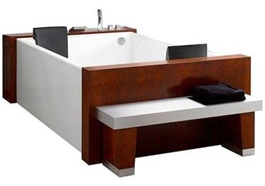 Vasca da bagno doppia