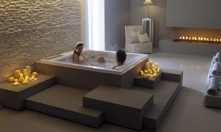 Vasca idromassaggio fai da te bagno come avere una - Vasca da bagno muratura ...