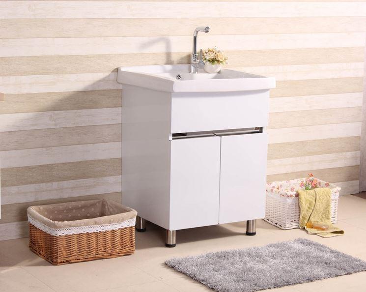 Angolo lavanderia moderno