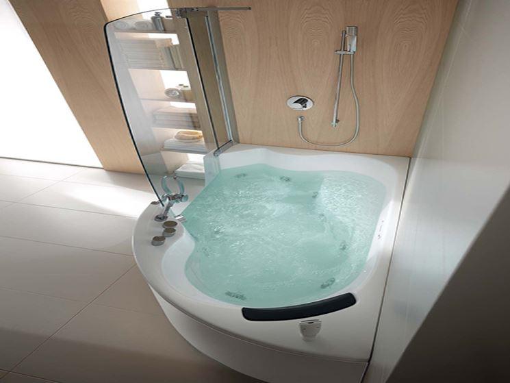 Vasca Da Bagno Angolare Piccola : Vasche da bagno angolari per il relax domestico bagno installare