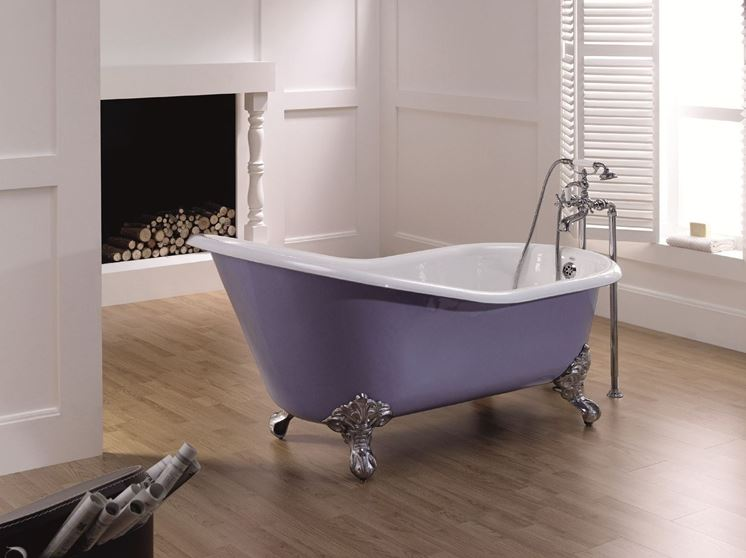 vasche da bagno colorate