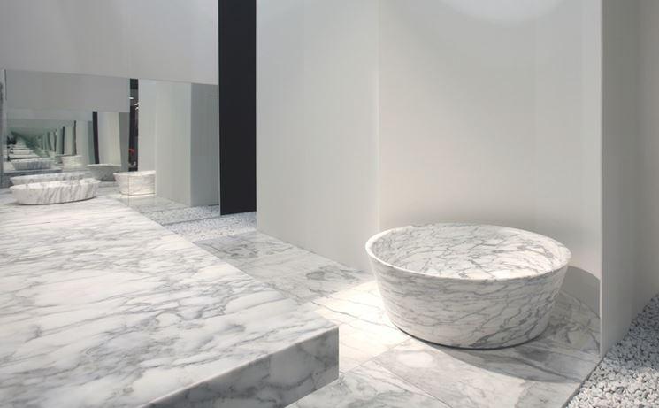 Vasche da bagno in marmo - Bagno - modelli di vasche in marmo
