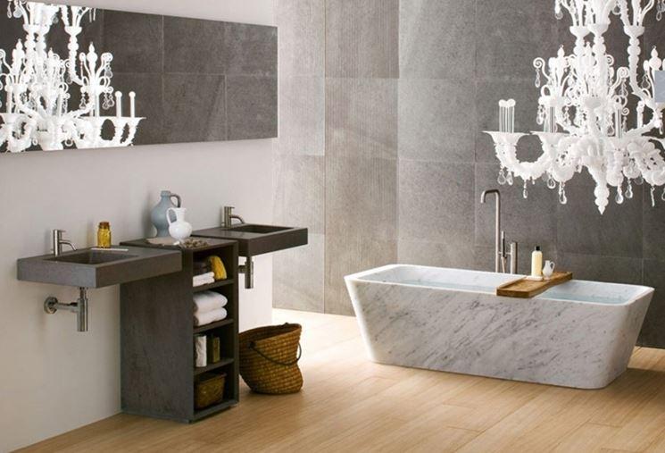 vasche in marmo