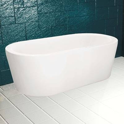guscio vasca rettangolare bianca mod smeraldo cm 105 x 70 spannello