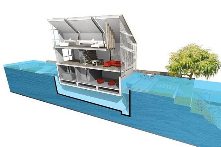 Costi di una casa anfibia
