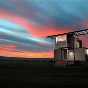 casa parassita in legno