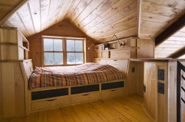 Mansarde in legno costruire una casa - Costi per costruire una casa ...